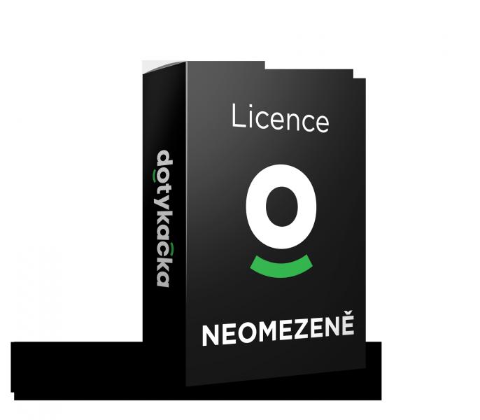 Licence Dotykačka NEOMEZENĚ