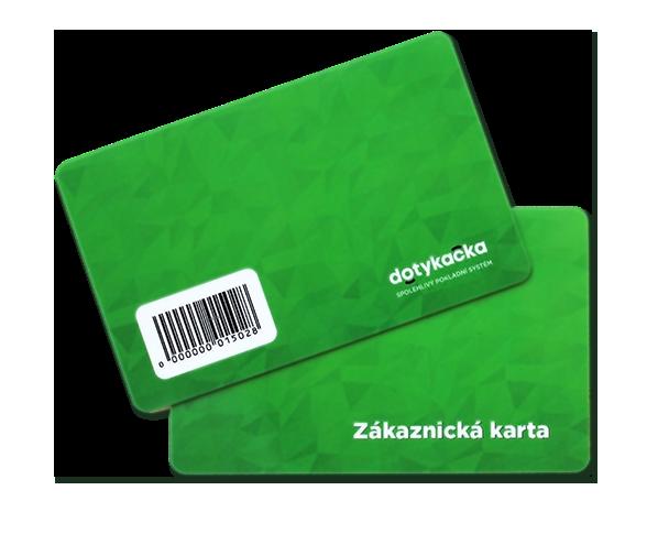Zákaznické karty s čárovým kódem