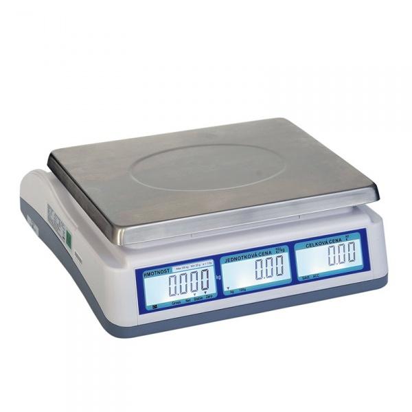 Váha 6/15 kg, 2/5 g s LCD bez stativu